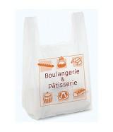"""Sac bretelle liassé impression """"Boulangerie & Pâtisserie"""""""