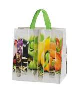 Sac Polypropylène tissé impression fruits et légumes. Colis de 100 sacs