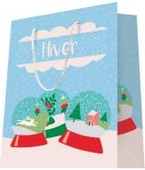 Sac luxe motif boule à neige dès 18.10€ le paquet