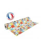 Papier cadeau Multicolore motifs animaux de la ferme dès 25.99€