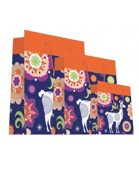Sac luxe motifs lama et fleurs dès 18.10€