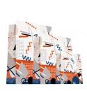 Sac luxe Blanc Mat motifs géométriques dès 18.10€